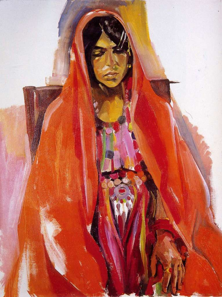 Image No: Afghan lady