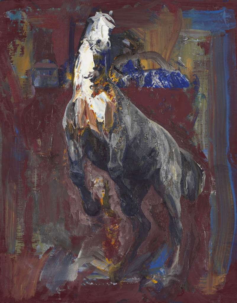 Image No: Study for Ali Baba's Mausoleum, the Rearing Horse 2008