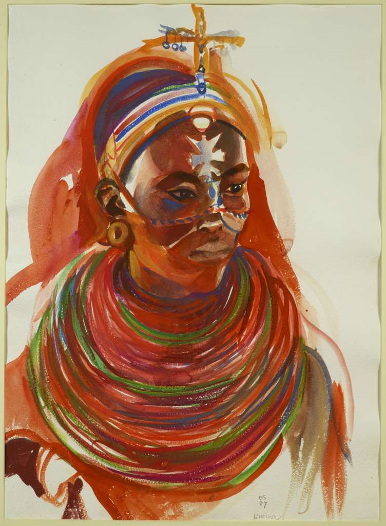 Image No: Samburu Maiden I